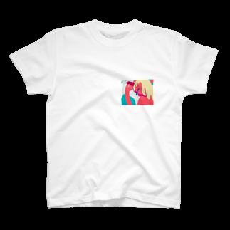 廣田くんのスリット T-shirts