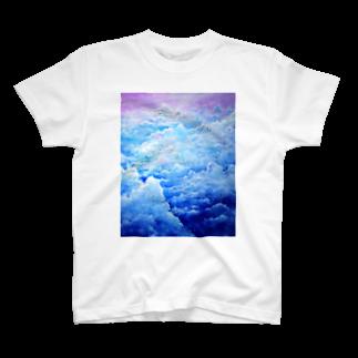 AWESOME CLOUDのsora T-shirts