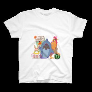 minoruTooの夏! T-shirts