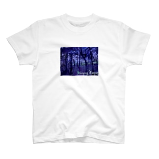 sleeping forest T-shirts