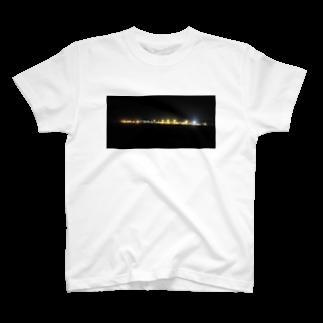 第1020惑星ハリーカ オンラインショップ suzuri店のハリーカの景色 T-shirts