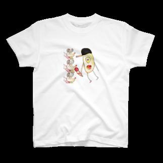 うまなすびの動物2 T-shirts