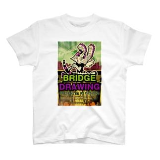 Bridge Drawing (橋梁図面) T-shirts
