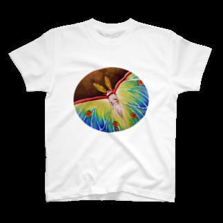 石川 佳宗のオオミズアオ T-shirts