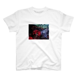 黒揚羽 T-shirts