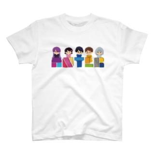 ANTLRロゴ+イラスト T-shirts