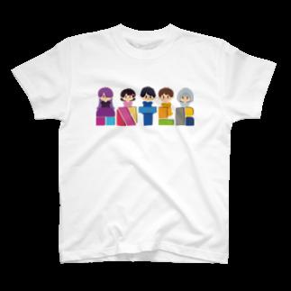 ANTLRショップのANTLRロゴ+イラスト T-shirts