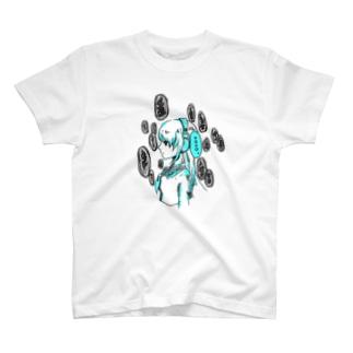 ヘッドホン少女 T-shirts
