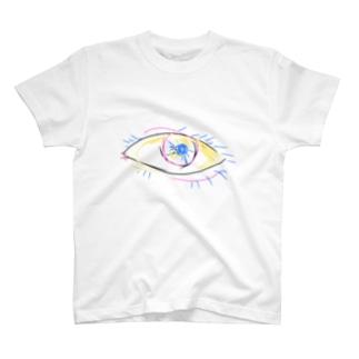 見透かす眼 T-shirts