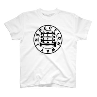 検査路(骨構造) T-shirts