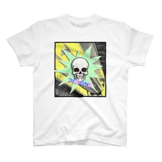 スカルポップ T-shirts
