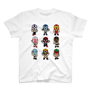 LUCHADOR nueve T-shirts