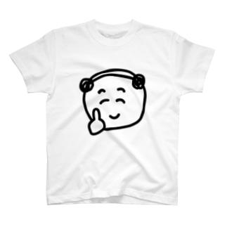 こいぬおじさんのロックTシャツ T-shirts
