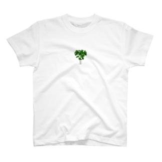 モンステラ T-shirts