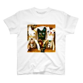 ねこちゃんだよ T-shirts
