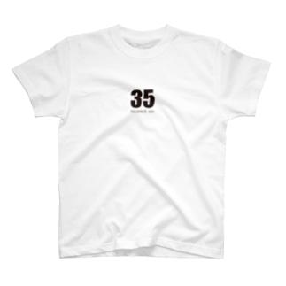 35(ミンゴス)ブラック T-shirts