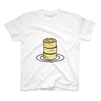 硬パンケーキ T-shirts