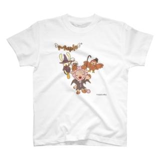 メープル達の愉快なハロウィン T-shirts
