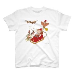 メープルサンタとクリスマス T-shirts