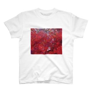 ピンクのスニーカー T-shirts