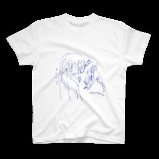 misimaの溶けかけ T-shirts