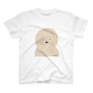 ラッコのらー ピースver. T-shirts