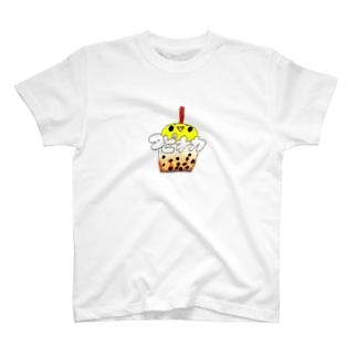 黒糖みるくたぴーおか T-shirts