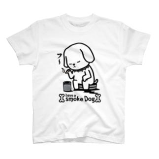 SMOKE DOG T-shirts
