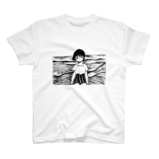 海べの女の子 T-shirts