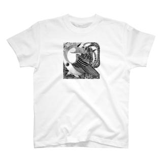 世界鳥の創世伝承 T-shirts
