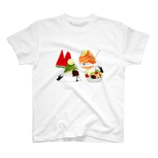 夏の楽しみ T-shirts