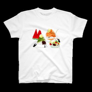 ももろ の夏の楽しみ T-shirts