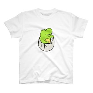 恐竜の赤ちゃん T-shirts