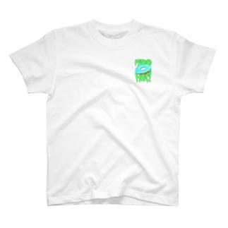 Too Hot! ブルー・ドーナツT T-shirts