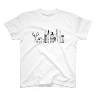 おばけがひそむ文房具 T-shirts