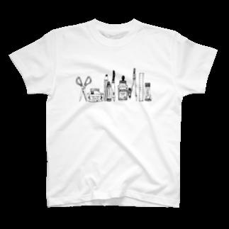まうらのおばけがひそむ文房具 T-shirts
