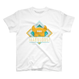 !FABULOUS! ye!!ow Tシャツ