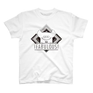 !FABULOUS! b!ack Tシャツ
