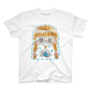 まじめがねちゃん。__*. T-shirts