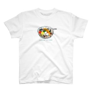 白玉みつ豆 T-shirts