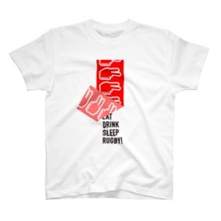 二軒目ポーズめくり T-shirts