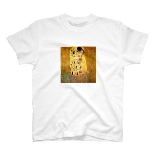 グスタフ・クリムト / 接吻 / 1908 /The Kiss / Gustav Klimt T-shirts