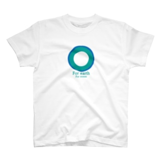 For earth For ocean T-shirts
