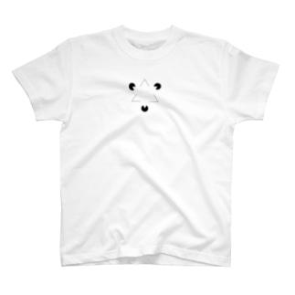 カニッツァの三角形(心理学) T-shirts