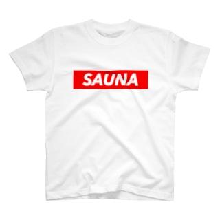 サウナシリーズ T-shirts