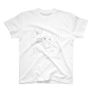 敵意むき出しセーラー少女 T-shirts