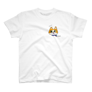 Catoneのさくらねこ シリーズ 茶白 T-shirts