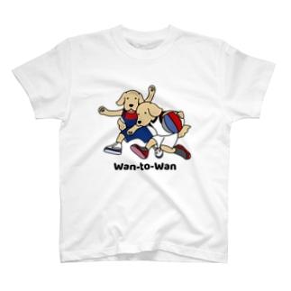 バスケット1(前面) T-shirts