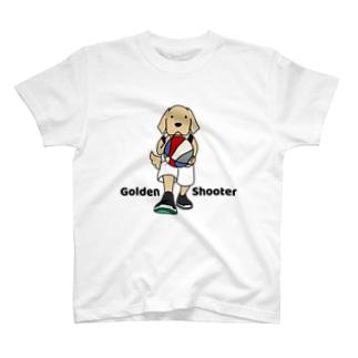 バスケット(両面) T-shirts