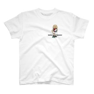 バスケット(両面2) T-shirts